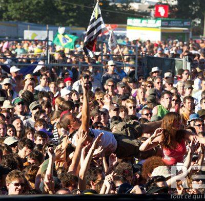 Du reuz en centre Bretagne depuis plus de vingt ans ! Festival des Vieilles Charrues 2012.