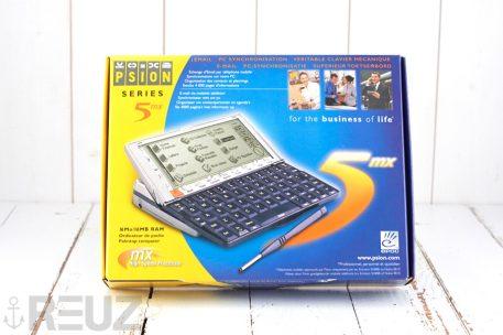 Psion series 5mx PDA clavier azerty état neuf complet inbox