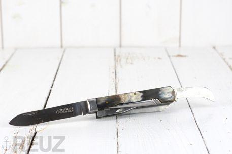 Couteau multi pièces Véritable Pradel manche corne marqué RATP