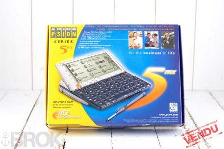 Psion series 5mx PDA clavier azerty état neuf complet inbox vendu