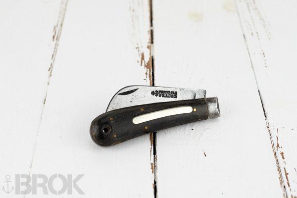 Gros couteau ancien de travail véritable Pradel serpette