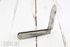 Gros couteau de marin véritable Pradel manche corne neuf de stock